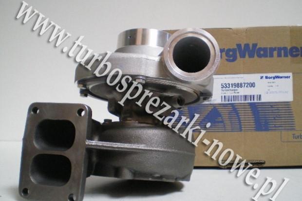 Ogłoszenie rolnicze: MAN - Turbosprężarka BorgWarner KKK 12.8 3591185 /  3591186