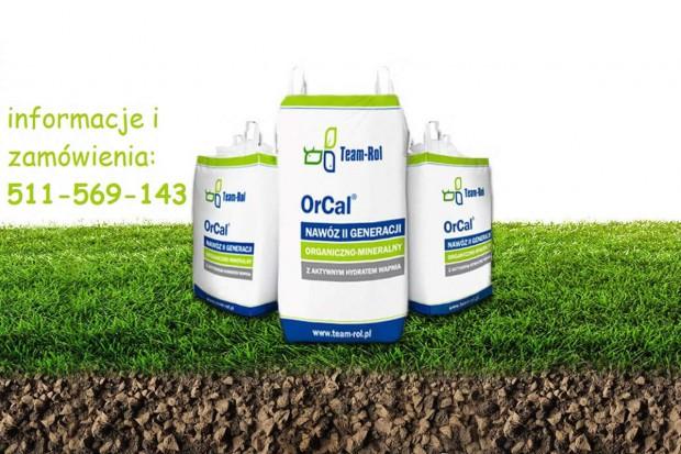 Ogłoszenie rolnicze: OrCal - szybka i skuteczna regulacja pH gleby