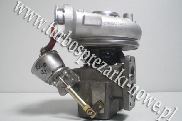 Ogłoszenie rolnicze: Deutz - Turbosprężarka BorgWarner KKK 6.0 12639880000 /  126