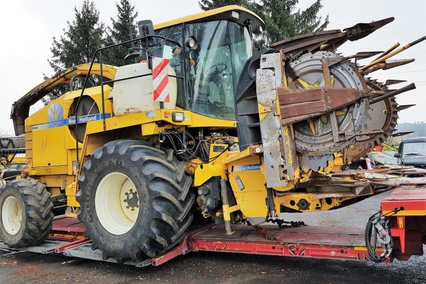 Ogłoszenie rolnicze: NEW HOLLAND FX 50 - KEMPER - PODBIERAK - 481 KM - 2006 ROK