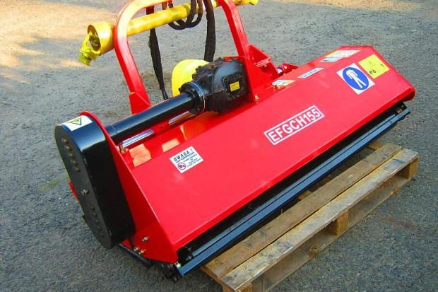 Ogłoszenie rolnicze: Przesuwna hydraulicznie KOSIARKA bijakowa szerokość 155 cm, bijak łopatka