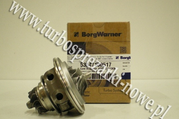 Ogłoszenie rolnicze: Opel - Nowy rdzeń CHRA BorgWarner KKK  53047100517 /  5304 710 0517 /