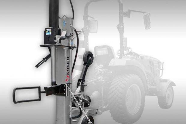 Ogłoszenie rolnicze: Łuparka hydrauliczna o nacisku 30T. Napęd z WOM ciągnika