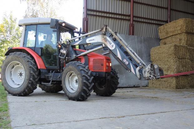 Ogłoszenie rolnicze: Ciągnik rolniczy SAME SILVER 95 + SIGMA 4 - 2006