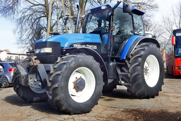 Ogłoszenie rolnicze: NEW HOLLAND TM 135 - 2002 ROK