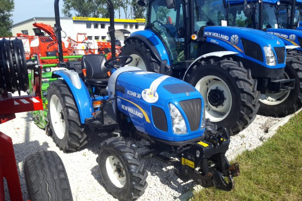 Ogłoszenie rolnicze: Ciągnik sadowniczy New Holland BOOMER 30 (mini traktorek, ciągniczek)