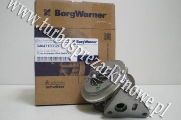 Ogłoszenie rolnicze: VW - Nowy rdzeń BorgWarner KKK 2.5 TDI 53047100524 /  5304 7