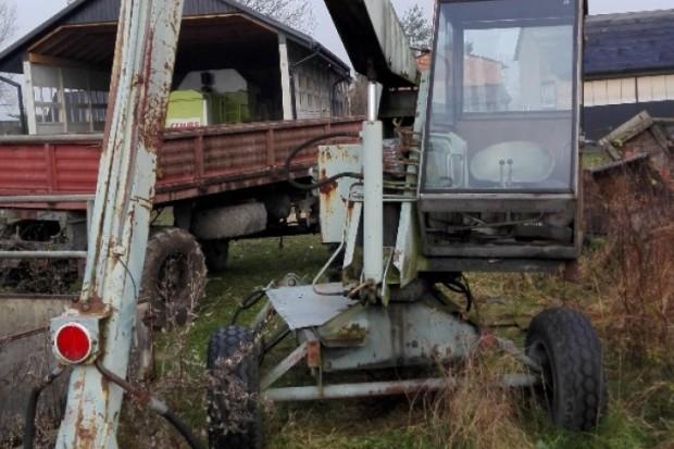 Ogłoszenie rolnicze: Cyklop ładowacz T-214/1, w pełni sprawny