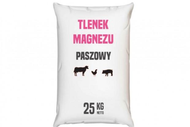 Ogłoszenie rolnicze: Tlenek magnezu paszowy 25 kg