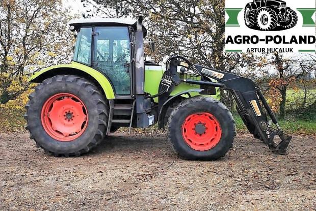 Ogłoszenie rolnicze: CLAAS ARES 657 ATZ - ŁADOWACZ - SILNIK JOHN DEERE 135 KM